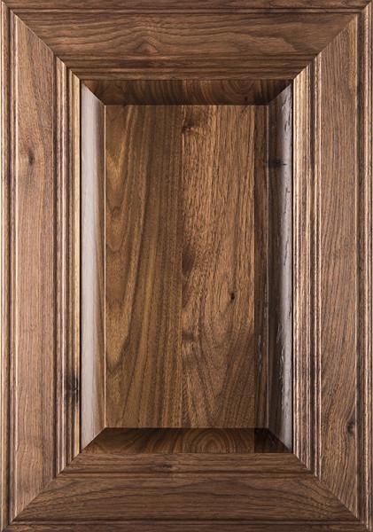 """Linville"" Walnut Raised Panel Cabinet Door  Image"