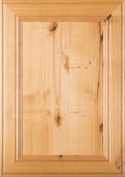 """2.38 """"Linville"""" Rustic Alder Flat Panel Cabinet Door"""