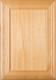 """Arden""2.38 Superior Alder Flat Panel Cabinet Door In Clear Finish"
