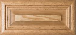 """Arden"" Raised Panel Oak Drawer Front  Unfinished"