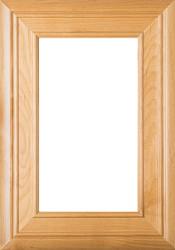 """""""Arden"""" Superior Alder Glass Panel Cabinet Door"""