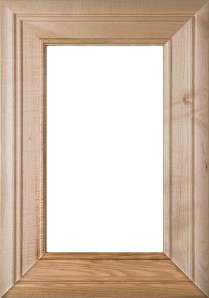 """Arden"" Maple Glass Panel Cabinet Door (Paint Quality)"
