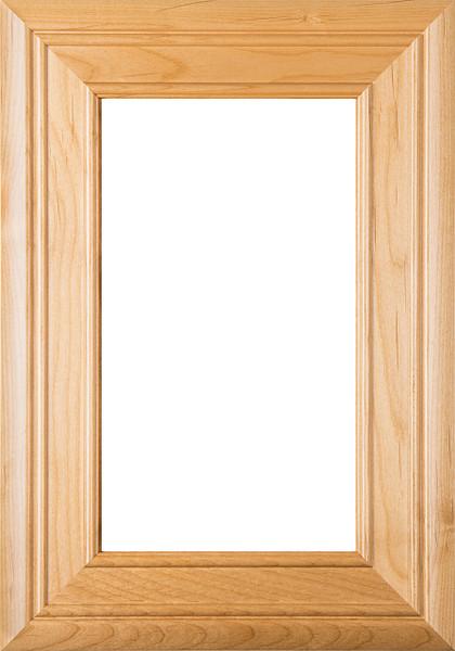 """""""Arden"""" Cherry Glass Panel Cabinet Door"""