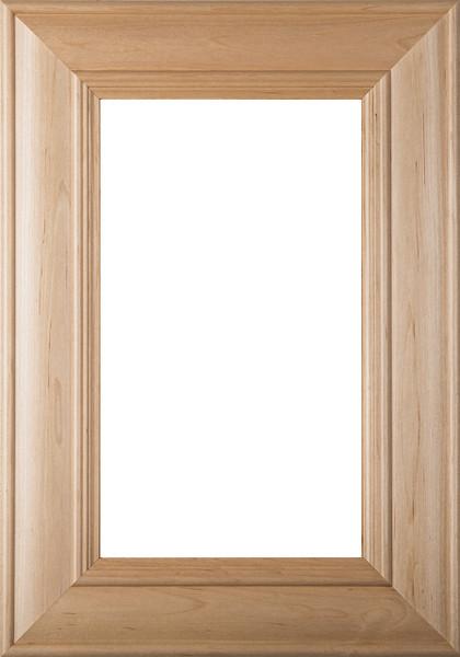 """""""Belmont"""" Superior Alder Glass Panel Cabinet Door"""