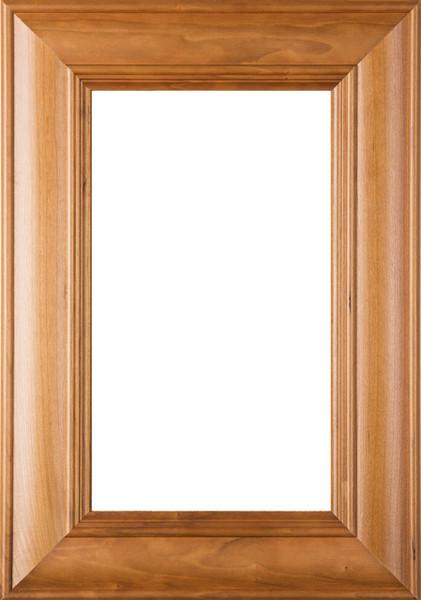 """Picture of """"Belmont"""" Cherry Glass Panel Cabinet Door"""