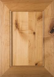 """""""Lenoir""""  Flat Panel Cabinet Door Rustic Alder Finished"""