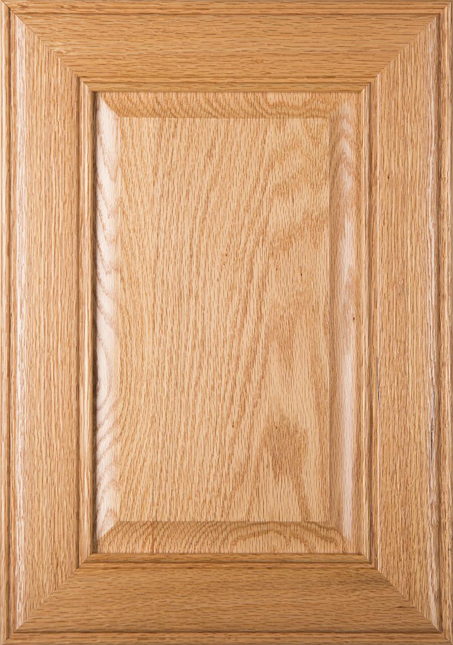 Cherokee Unfinished Red Oak Cabinet Door Raised Panel