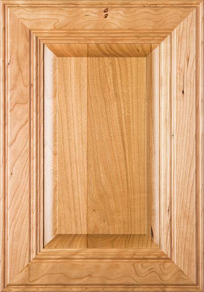 """Linville"" Cherry Raised Panel Cabinet Door Image"