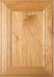 """Linville"" Superior Alder FLAT Panel Cabinet Door Image"