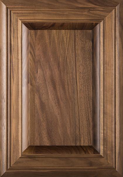 """""""Arden"""" 2.38 Walnut Raised Panel Cabinet Door"""