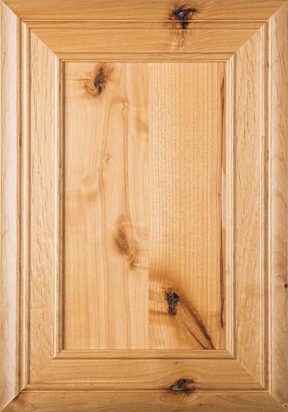 """""""Arden"""" Rustic Alder FLAT Panel Cabinet Door"""