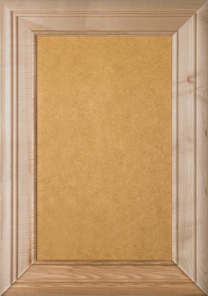 """""""Arden"""" 2.38 Maple & MDF FLAT Panel Cabinet Door"""