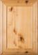 """""""Arden"""" 2.38 Rustic Alder FLAT Panel Cabinet Door"""