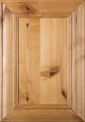 """""""Belmont"""" Rustic Alder Flat Panel Cabinet Door"""