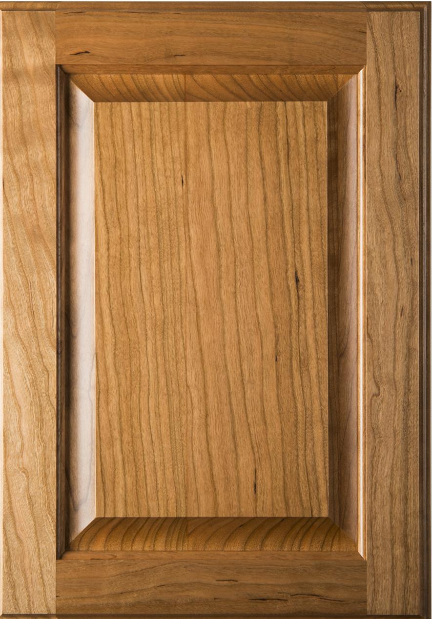 Square Raised Panel Cherry Cabinet Door Conover Nc