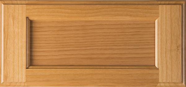 Unfinished Superior Alder Drawer Front Flat Panel