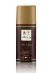 Yardley of London Citrus & Wood Deodorant