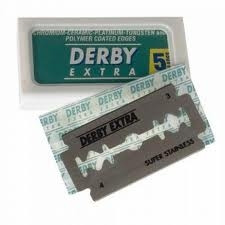 Derby Extra Double Edge Razor Blades 5 ct.
