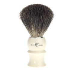 Edwin Jagger Ivory Black Best Badger Brush