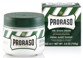 Proraso Pre-Shave Cream Eucalyptus & Menthol 3.6 oz.