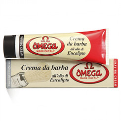 Omega Shaving Cream Tube