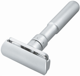Merkur Futur Adjustable Safety Razor Silver Matte