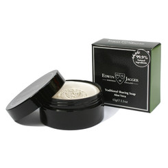 Edwin Jagger Aloe Vera Shaving Soap in Travel Container 2.3 oz.