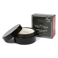 Edwin Jagger Sandlewood Shaving Soap in Travel Container 2.3 oz.