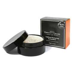 Edwin Jagger Sea Buckthorn Shaving Soap in Travel Container 2.3 oz.