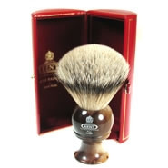 Kent Shaving Brush Best Badger Horn Brush H8 Medium