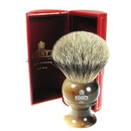 Kent Shaving Brush – Best Badger Horn Brush H12 King Size