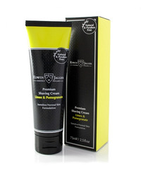 Edwin Jagger Lime Pomegranate Shaving Cream 2.5 fl. oz. Tube