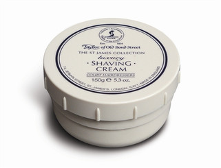 Taylor of Old Bond Street St. James Collection Shaving Cream 150g