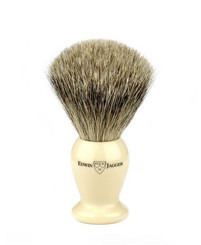 Edwin Jagger Medium Ivory Best Badger Brush
