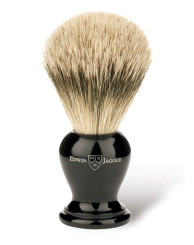 Edwin Jagger Medium Ebony Horn Super Badger Brush