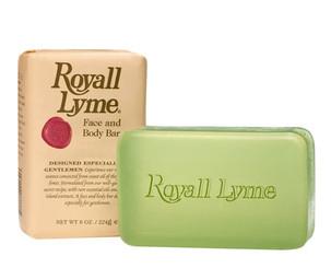 Royall Lyme Soap 8oz  (Three Bar)