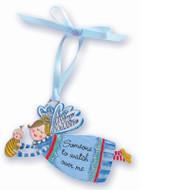 Lisa's Catholic Treasures, blue angel crib medal, CA Gift