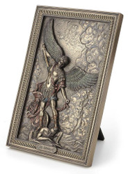 St Michael tabletop plaque