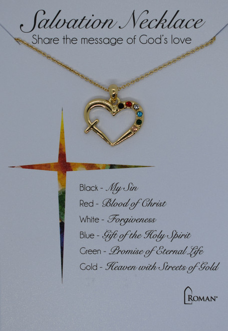 Gold Salvation necklace