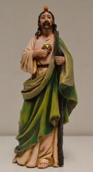 "St. Jude, Patron Saint of Lost Causes, 6.5"" Figurine by Joseph's Studio"