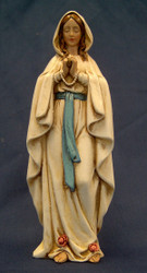 Our Lady of Lourdes Figurine - Joseph's Studio - 6""