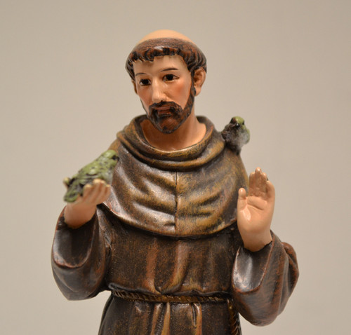 "Close up of St. Francis, 6"" JS-60684"