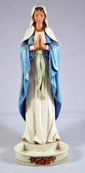 Madonna Figure Rosary Holder - 7.5""