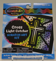 Scratch Art Cross Light Catcher