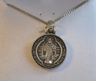 St Benedict medal, smaill
