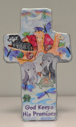 Noah's Ark ArtMetal Cross