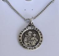 St Joseph pewter medal