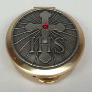 IHS Cross pyx