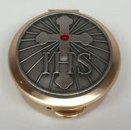 IHS Cross pyx
