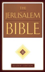 Jerusalem Bible, Reader's Edition, Imprimatur of the Roman Catholic Church, HB